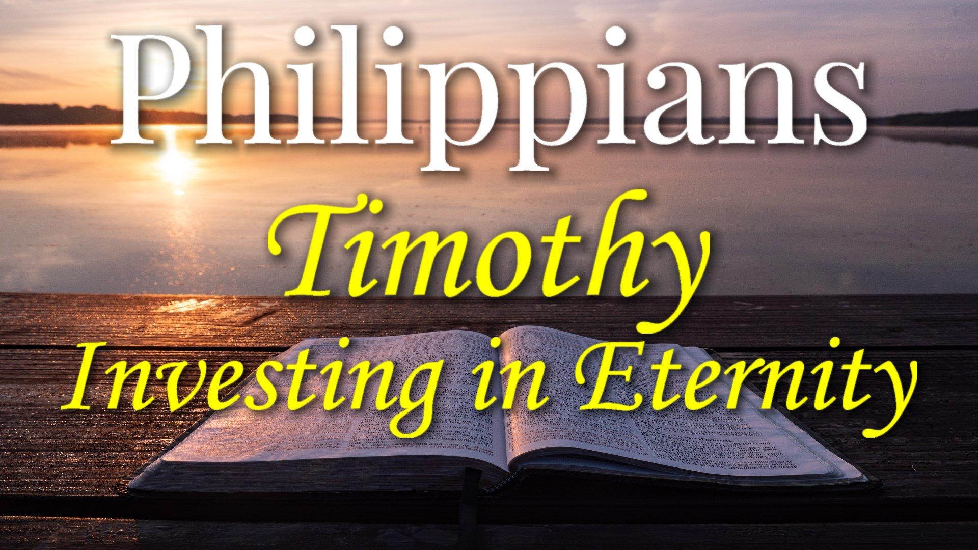 09 Timothy, My Own Son in the Faith
