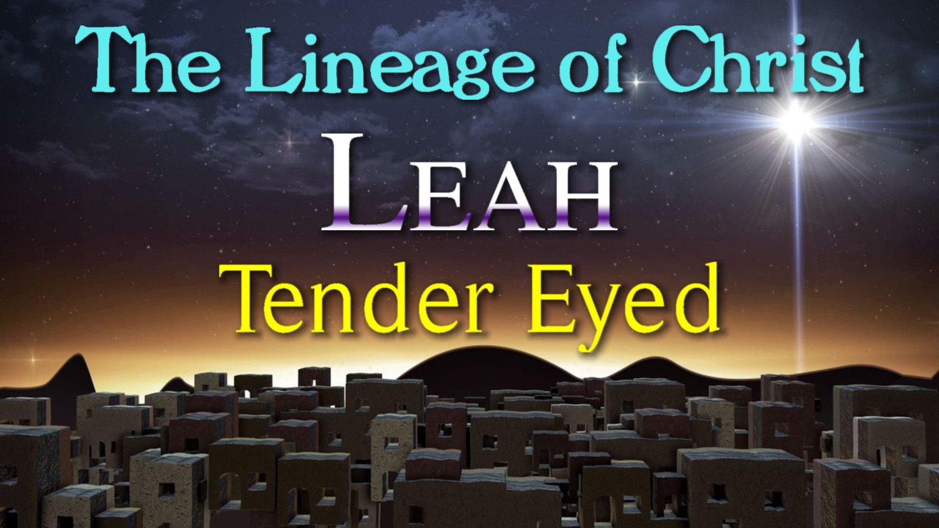 11 Leah Tender Eyed