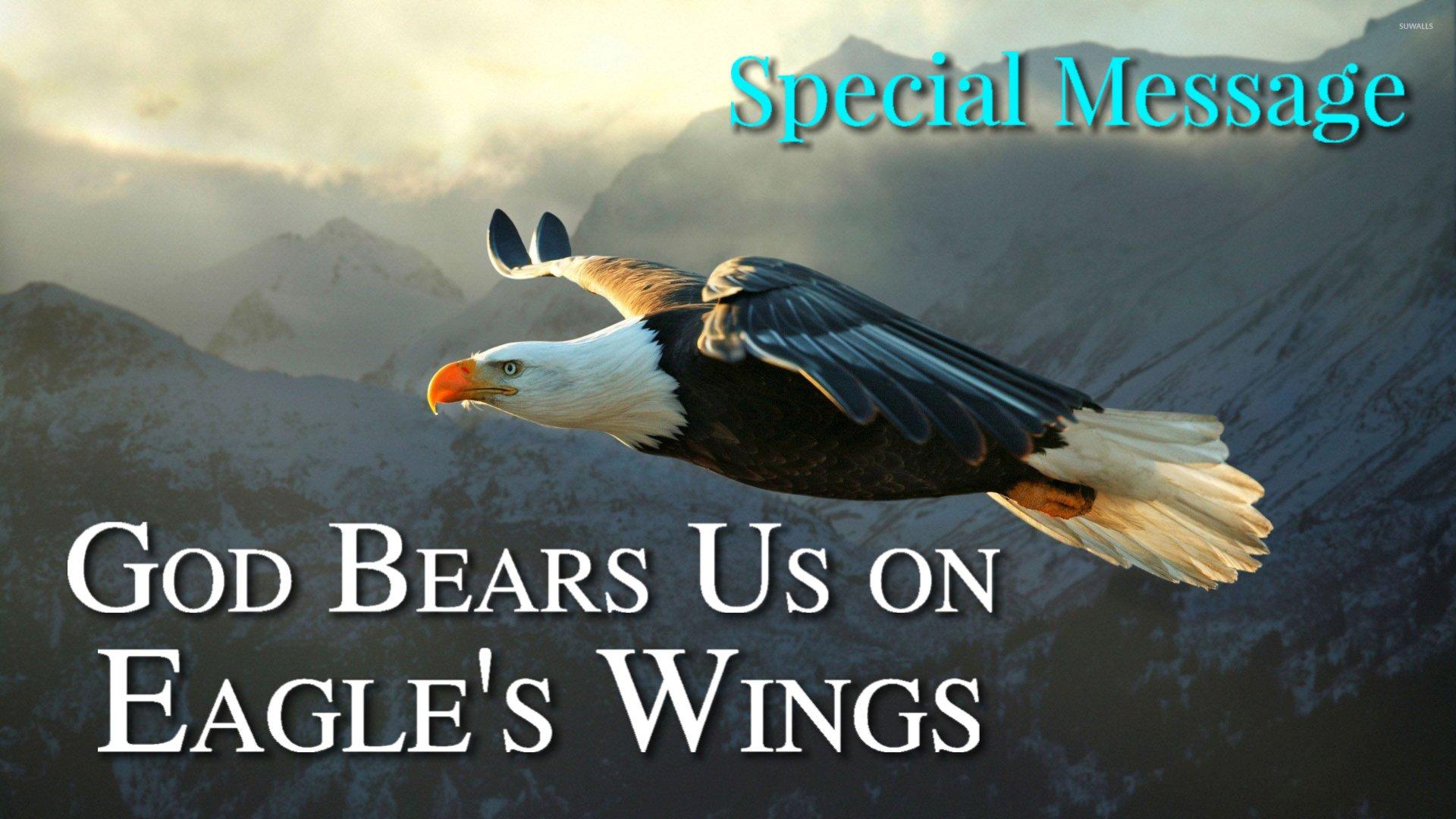 20 God Bears Us on Eagles Wings
