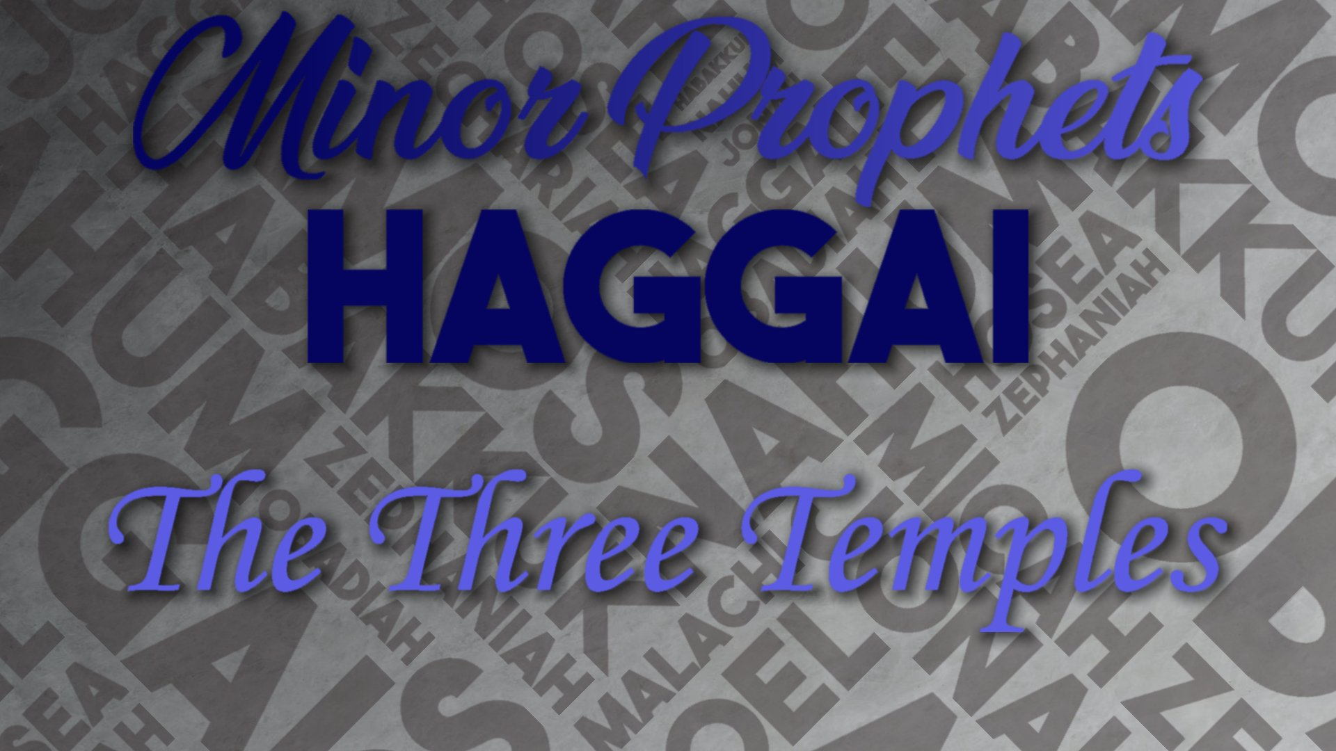 29 The Three Temples