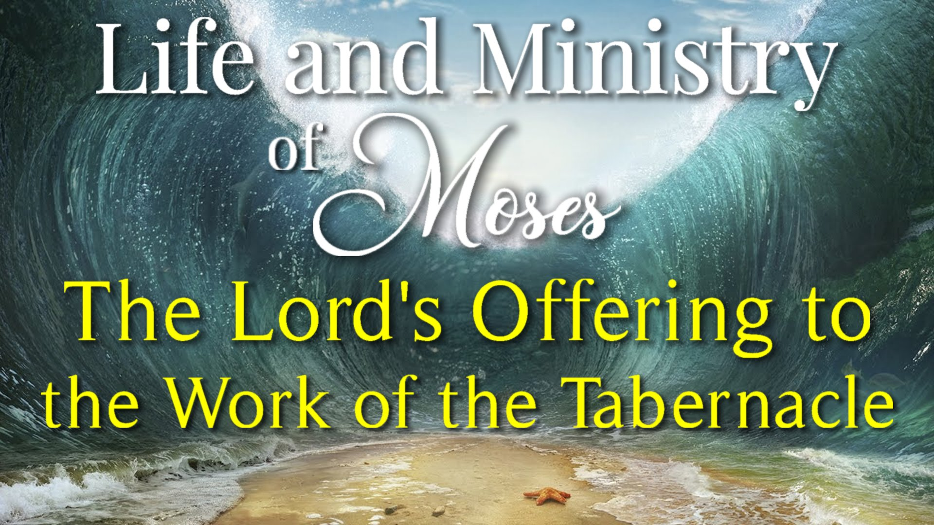 30 The Lord's Offering to the Work of the Tabernacle