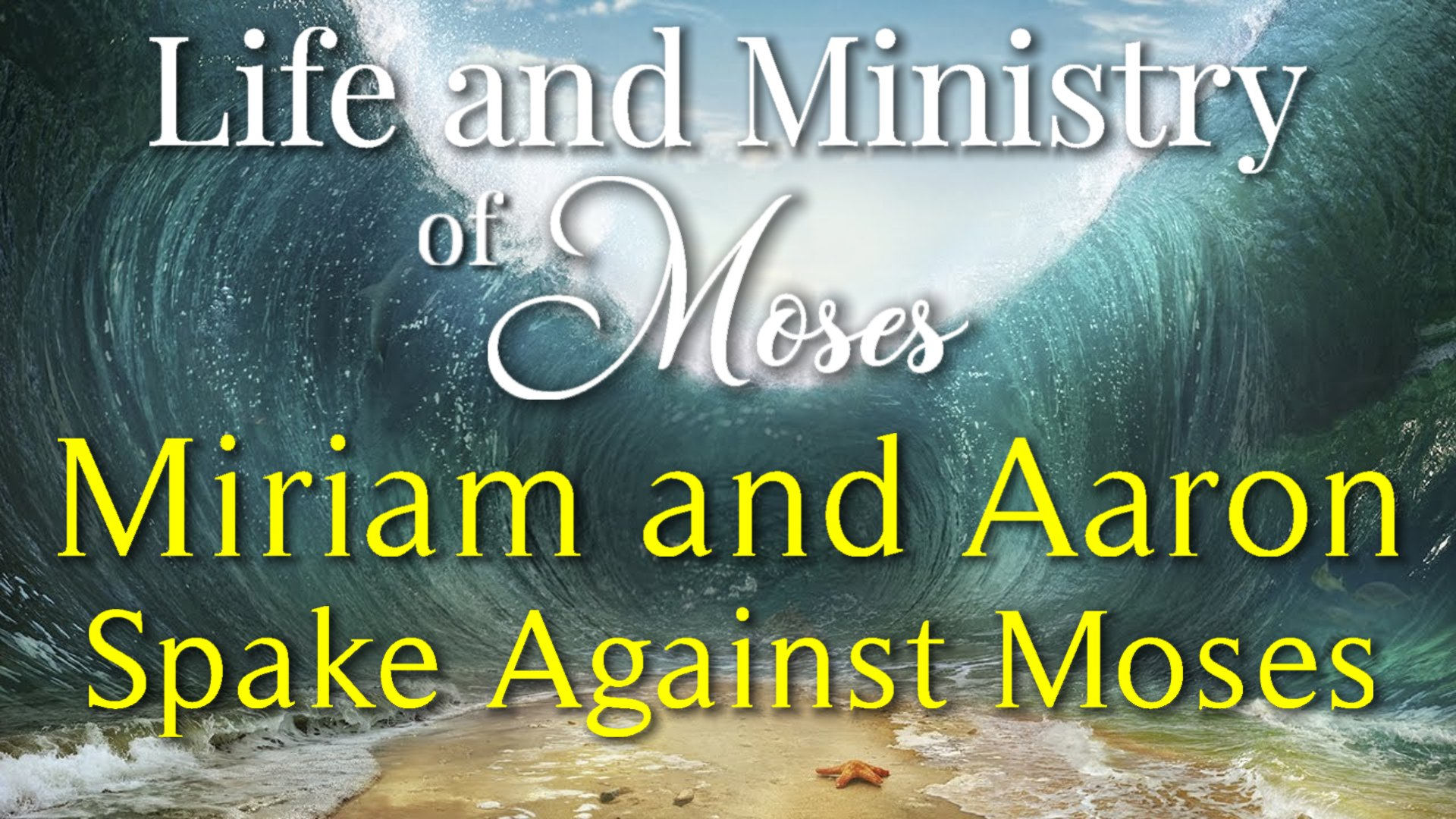 35 Miriam and Aaron Spake Against Moses